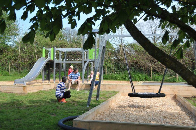 Play area at East Jordeston
