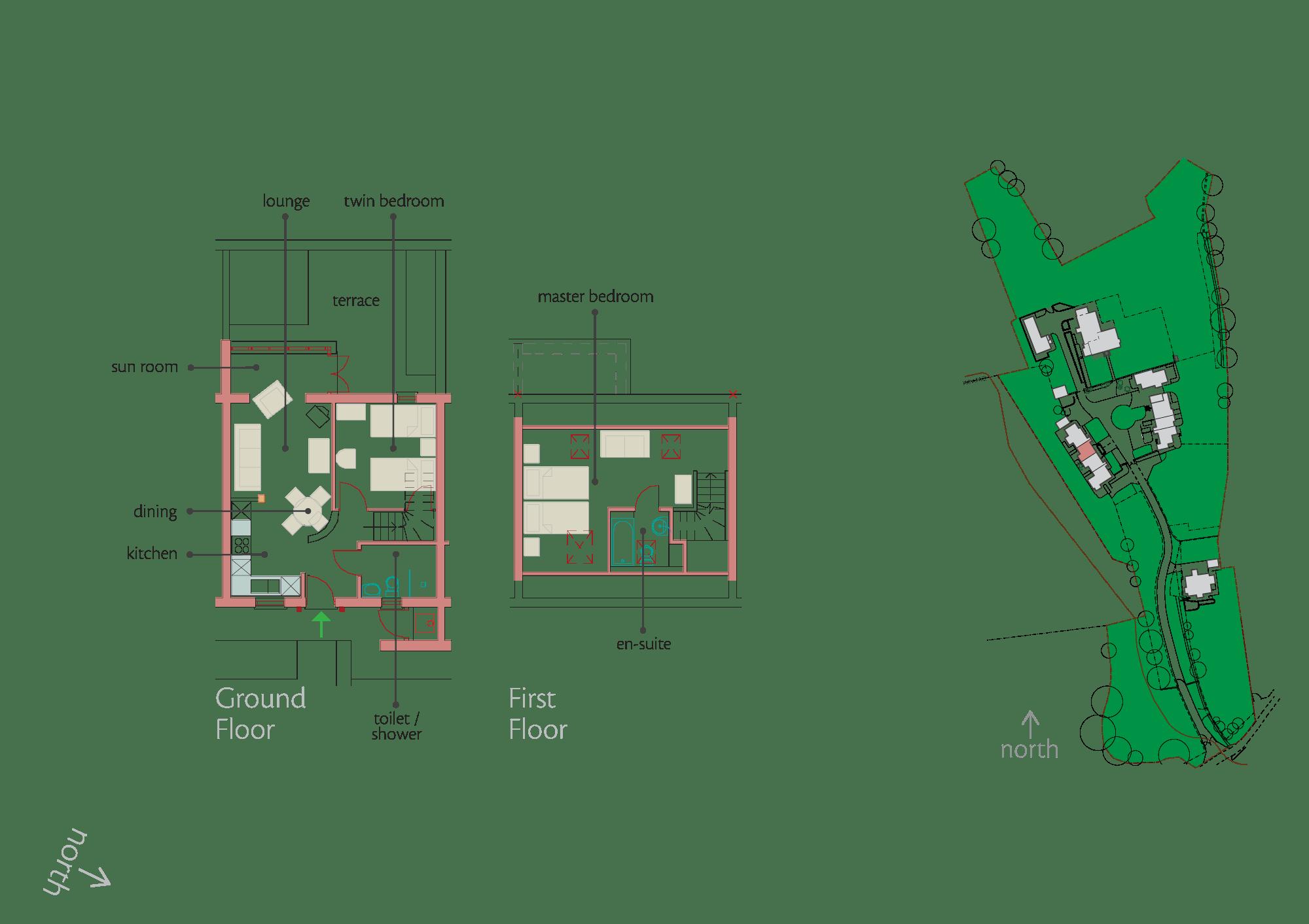 Plan - Dolmenyn