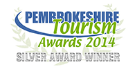 Pembrokeshire Tourism Self Catering Award 2014 Silver