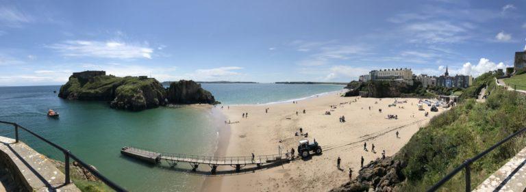 Tenby Castle Beach