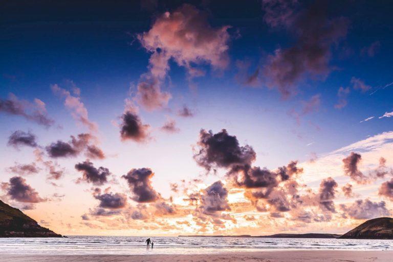 Manorbier sunset